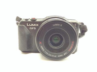camara digital evil panasonic lumix dmc-gf5+14-42mm 1:3.5-5.6 asph ois