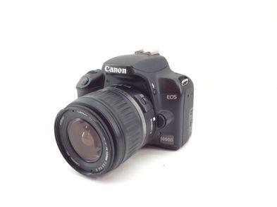 camara digital reflex canon eos 1000d+ef-s 18-55mm 1:3.5-5.6 is