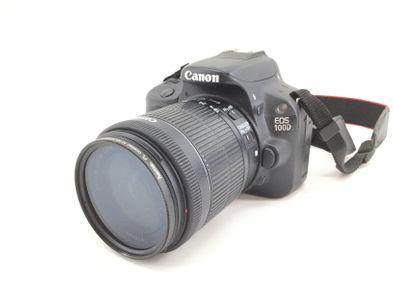 camara digital reflex canon eos 100d+ef-s 18-55mm 1:3.5-5.6 is stm