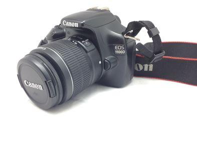 camara digital reflex canon eos 1100d+ef-s 18-55mm 1:3.5-5.6 is ii