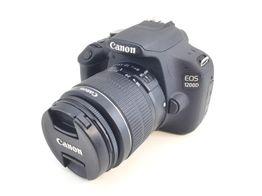 camara digital reflex canon eos 1200d + ef-s 18-55mm iii dc f/3.5-5.6