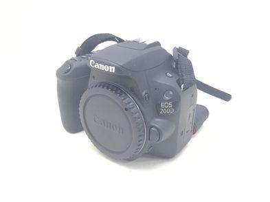 camara digital reflex canon eos 200d (rebel sl2)