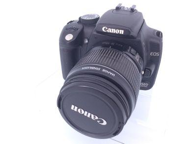 camara digital reflex canon eos 350d+ef-s 18-55mm 1:3.5-5.6 ii