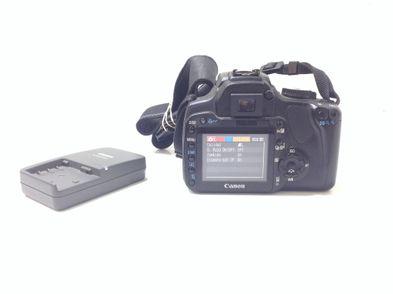 camara digital reflex canon eos 400d+ef-s 18-55mm 1:3.5-5.6 ii