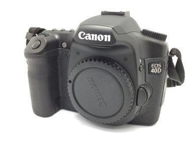 camara digital reflex canon eos 40d