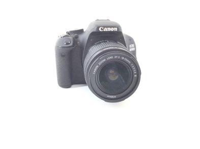 camara digital reflex canon eos 600d+ef-s 18-55mm 1:3.5-5.6 is ii