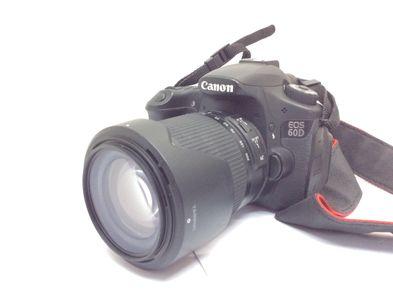camara digital reflex canon eos 60d+ef-s 18-55mm 1:3.5-5.6 is