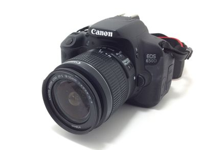camara digital reflex canon eos 650d+ef-s 18-55mm 1:3.5-5.6 is ii