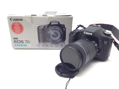 camara digital reflex canon eos 7d ef-s 18-135 is kit