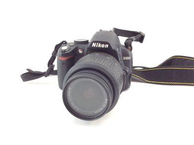 camara digital reflex nikon d3000+ed 18-55mm 1:3.5-5.6g ii af-s dx nikkor