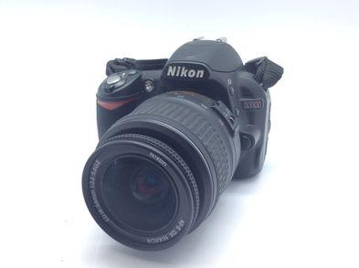 camara digital reflex nikon d3100 af-s nikkor dx 18-55 1:3.5-5.6gii ed