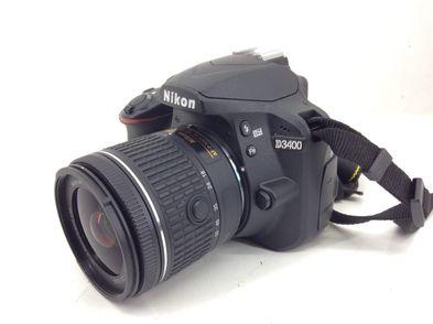 camara digital reflex nikon d3400 + af-p dx 18-55mm f/3,5-5,6 g