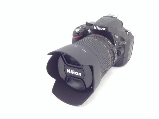 camara digital reflex nikon d5200+af-s dx vr 18-105mm 1:3.5-5.6g ed