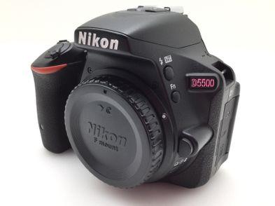 camara digital reflex nikon d5500+af-s dx 18-55mm 1:3.5-5.6g vr ii
