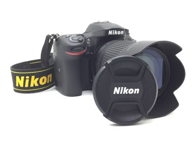 camara digital reflex nikon d7200+af-s dx vr 18-105mm 1:3.5-5.6g ed