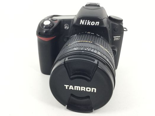 camara digital reflex nikon d80+tamron 28-200