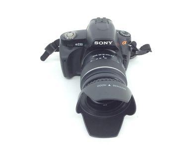 camara digital reflex sony alpha dslr  a230