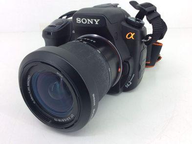 camara digital reflex sony alpha dslr  a350+dt 18-70mm 1:3.5-5.6