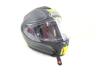 capacete integral airoh carbon kevl-ar