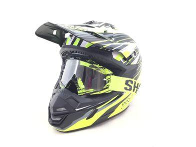 capacete motocross shoei action pro