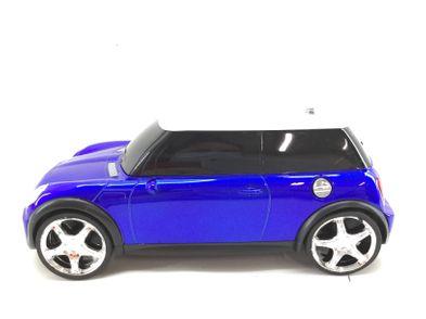 carro telecomandado corrida mini azul