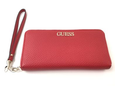 cartera guess rojo