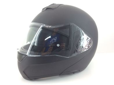 casco abatible ls2 negro