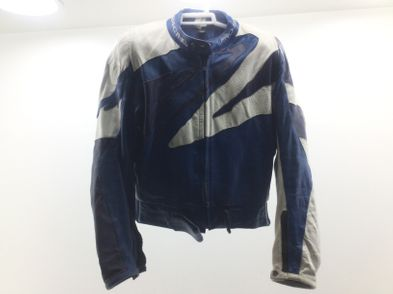 chaqueta motorista racing pro-sport azul