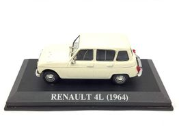 coche metal altaya renault 4l 1964