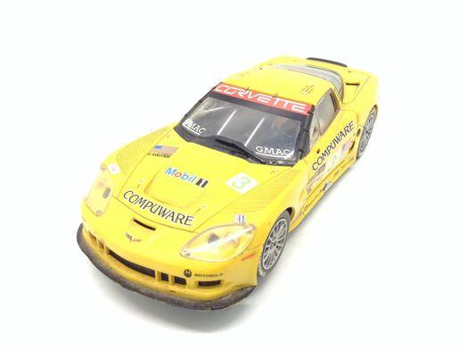 coche slot carrera 2006 chevrolet corvette c6r