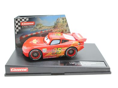 coche slot carrera lightning mcqueen