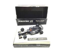coche slot scalextric special edition minardi f-1 2001