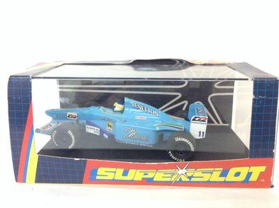 coche slot superslot 1/32 benetton f1 2000 n-11