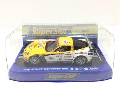 coche slot superslot chevrolet corvette c6r