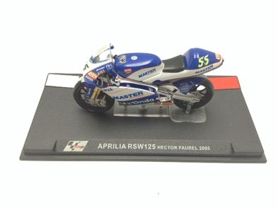 coleccionismo deportivo otros aprilia rsw125 hector faubel 2005