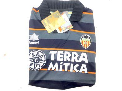 coleccionismo deportivo otros camiseta valencia cf 3 equpacion 1998-1999
