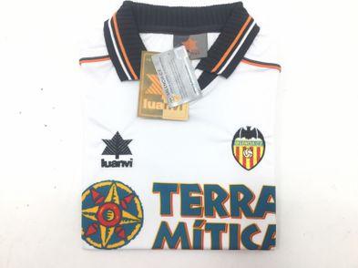 coleccionismo deportivo otros camiseta valencia cf primera equipacion 1998-1999