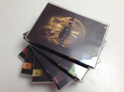 expediente x sexta temporada 6 discos