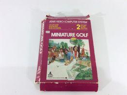 coleccionismo vintage atari miniature golf