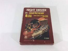 coleccionismo vintage atari night driver