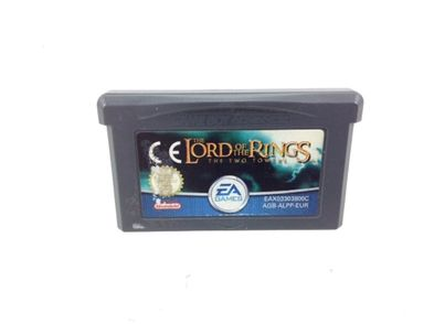coleccionismo vintage otros the lord of the rings the two towers gba