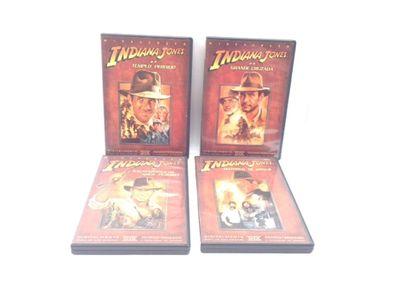 indiana jones - coleçao dvd completa