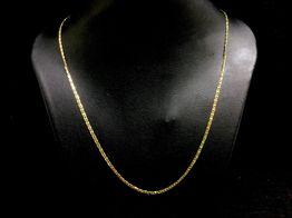 collar oro 18k 24cm
