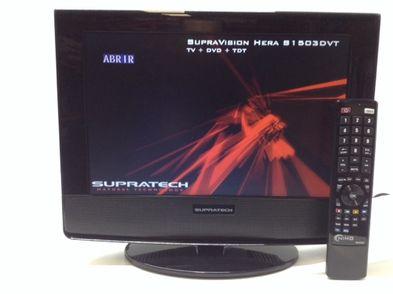 combi tv reproductor supratech supravision hera s1503dvt