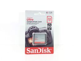 compact flash sandisk 32gb ultra 50mb