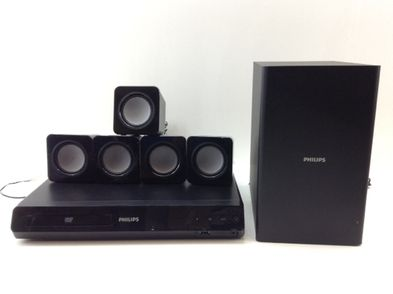 conjunto home cinema philips htd3510