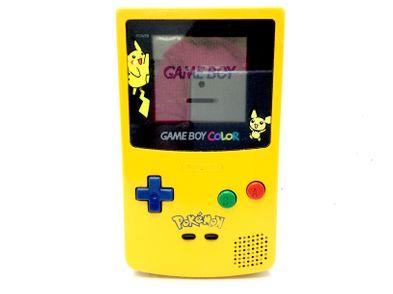 nintendo game boy color pikachu