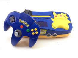 nintendo nintendo 64 pikachu edition