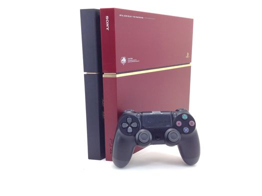 sony ps4 500gb metal gear solid edition