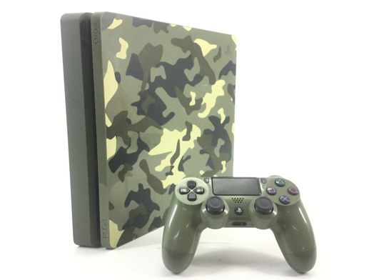 sony ps4 slim 1000 call of duty wwii camuflaje edition
